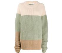 Pullover mit lang geschnittenen Ärmeln