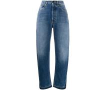 Jeans mit seitlichem Einsatz