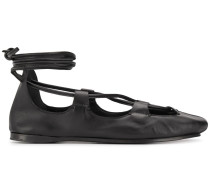 Ballerinas mit Knöchelband