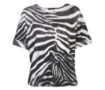Oberteil mit Zebra-Print