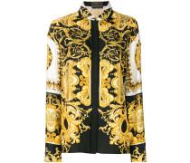 Barocco-print shirt