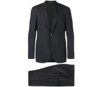 two piece slim-fit suit