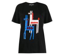 'Anna' T-Shirt mit Pailletten