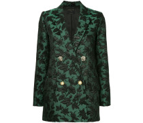 baroque patterned blazer