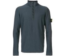 Pullover mit Reißverschlusskragen