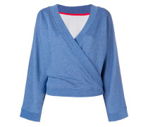 Sweatshirt im Kimono-Design