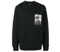 Sweatshirt mit Soldaten-Print