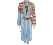 Kimono mit Jeanseinsätzen