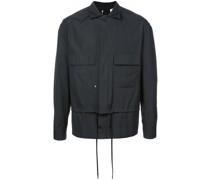 Leichte Jacke im Lagen-Look