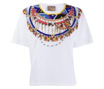x Stella Jean T-Shirt mit Stickerei