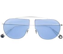 Sonnenbrille mit abstraktem Design
