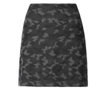 Minirock mit Camouflage-Print