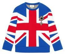 Union Jack jersey sweatshirt