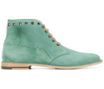 eyelet ankle boots