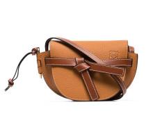 brown Gate mini leather shoulder bag