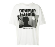 "T-Shirt mit ""Psycho""-Print"