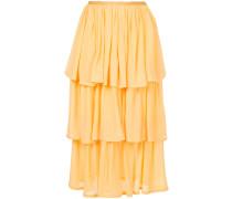 three-tier skirt