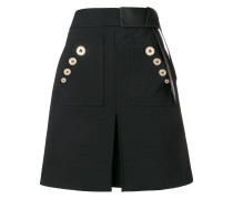 contrast buttons skirt