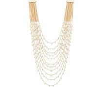 Lange Perlenhalskette