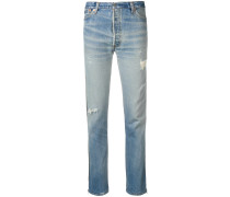Levi's high rise ankle crop jeans