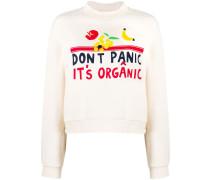 'Don't Panic It's Organic' Pullover