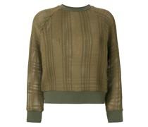 Sweatshirt mit Patches