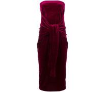 Samtkleid mit Meerfungfrauen-Silhouette
