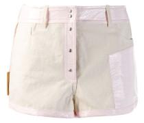 Shorts mit Kontrastborten