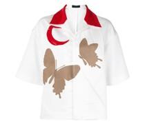 Hemd mit Schmetterlingen