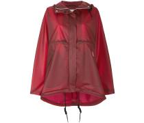 Regenmantel mit Kapuze