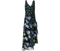 floral flared shift dress