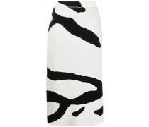 'Kalina' Rock mit Zebra-Muster
