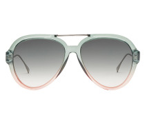 'Tropical Shine' Pilotenbrille