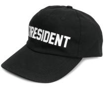 'President' logo cap