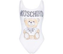 Badeanzug mit Teddybären-Print