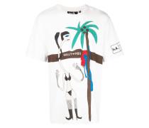 "T-Shirt mit ""Hollywood""-Print"