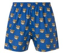 Shorts mit Teddybärenmotiv