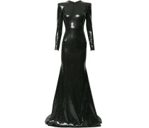 Lane crepe gown