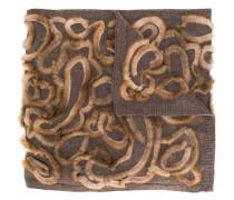 Schal mit Borten