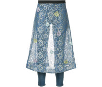 butterfly lace apron 3Y jeans short length