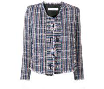 Strukturierte Tweed-Jacke