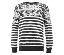 Gestreiftes Sweatshirt mit Sternen