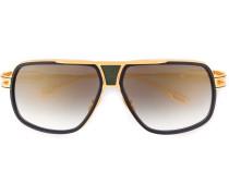 18kt vergoldete 'Grandmaster Five' Sonnenbrille
