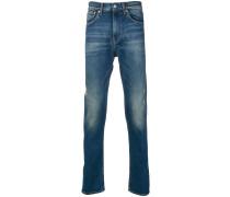 '911' Jeans in Distressed-Optik