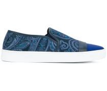 Schuhe mit Paisley-Print