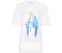 'Lourdes' T-Shirt mit Slogan