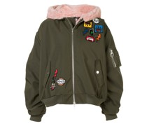 Bomberjacke mit Patch