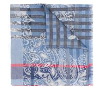 Karierter Schal mit Paisleymuster