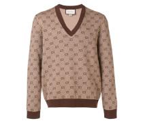 Pullover mit GG-Jacquardmuster