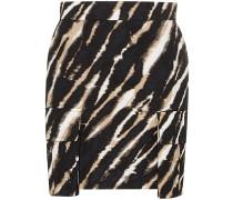 Minirock mit Zebra-Print - Zebra (Black/White)